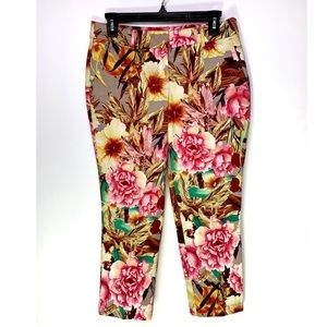 DALIA COLLECTION FLORAL TRAUSERS
